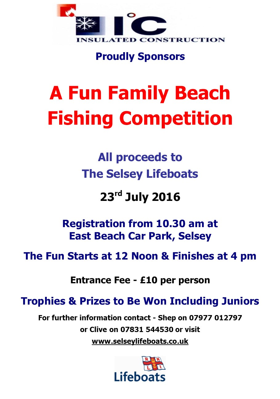 Beach Fishing Competition