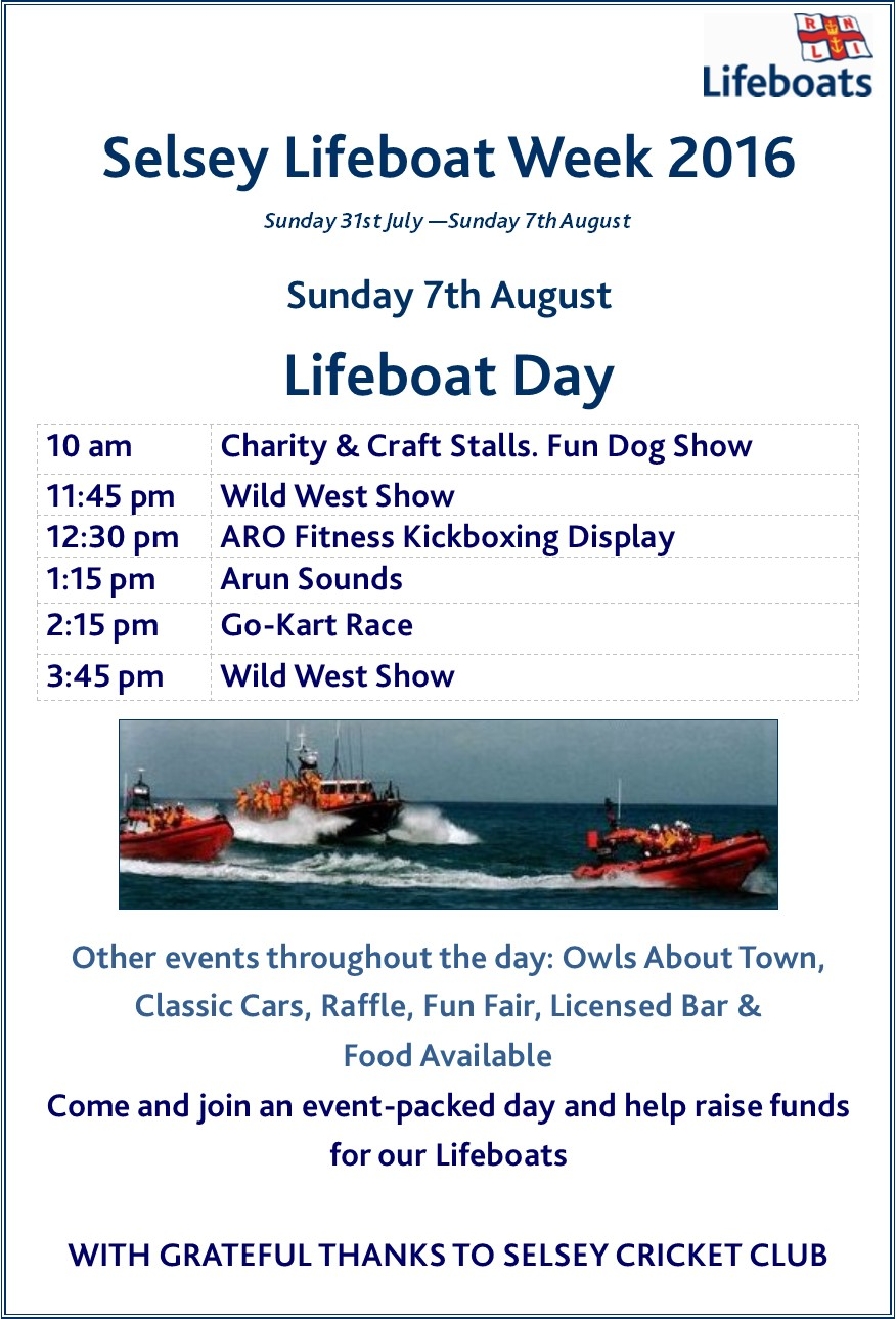 Selsey Lifeboat Day